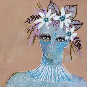 Sirena | Canvas Print by Sue Fantini