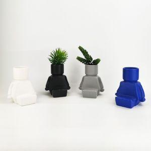 Sitting Blockman Planter-Pre Order