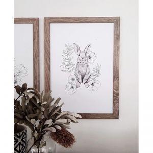 Sitting Bunny Print