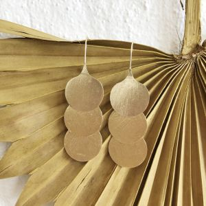 Sivia Earrings Gold