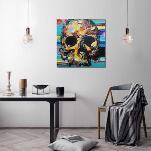 Skull | Canvas Print By United Interiors