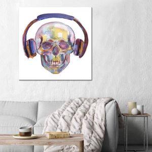 Skull | Soniq | Canvas Print