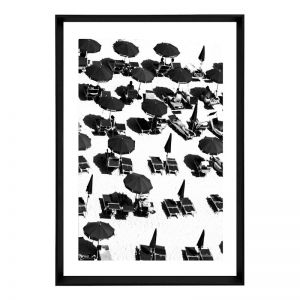 Skyfall Beach | Framed Art Print