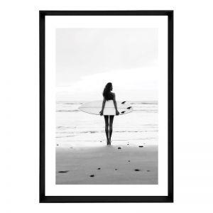 Skyfall Board | Framed Art Print
