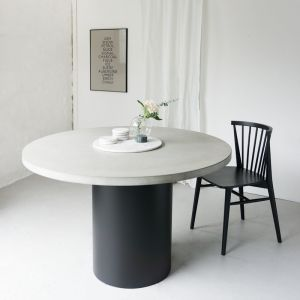 SLABS by Design | Cooper Concrete Round Dining Table