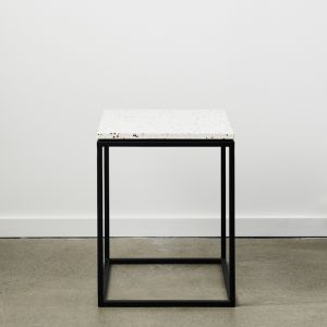 SLABS by Design | SIENA Terrazzo Side Table | Neutral