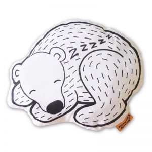 Sleeping Bear Cushion by Homely Creatures