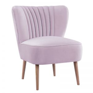 Slipper Chair I Velvet I Lilac I Darcy & Duke