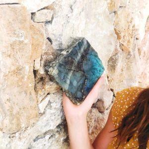 Small Labradorite Crystal Slab | Wisdom of Maurice