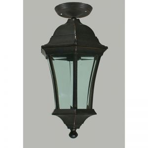 Small Strand Exterior Under Eave Light, Antique Bronze | Schots
