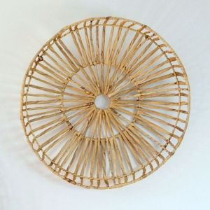 Small Woven Hyacinth Tray | Wall Art
