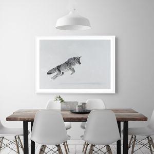 Snow Fox Premium Art Print (Various Sizes)