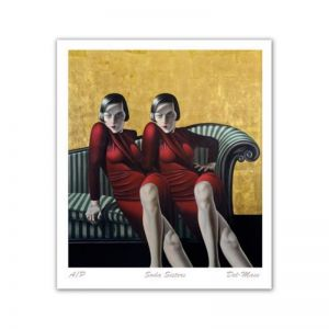 Soda Sisters | Art Print | By Gill Del-Mace