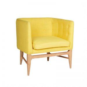Sofia Armchair | Yellow