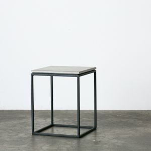 Soho | Concrete Side Table with Flat Top