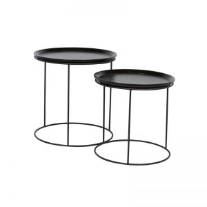 Soho Round Side Table | Various Colours | Pre Order Black