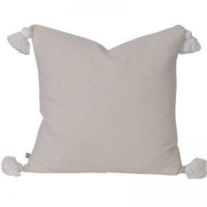 Soho Tassel Cushion | Oatmeal | BY SEA TRIBE