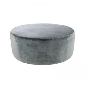 Soho Velvet Ottoman Large | Christian Grey