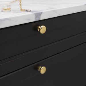 Solid Brass | Mushroom Knob