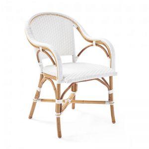 Sorrento Arm Chair | White