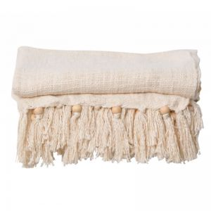 Sorrento Throw | Natural | BY SEA TRIBE