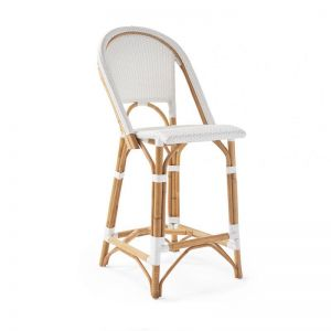 Sorrento | White Counter Stool