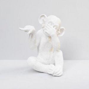 Speak No Monkey | White