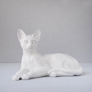 Sphynx | Resin | White
