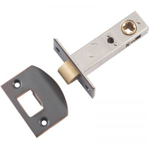 Split Cam Tube Latch 60mm Backset | Antique Copper | Schots