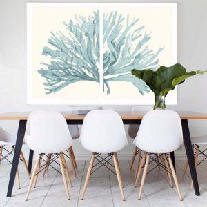 Split Coral | Canvas Art