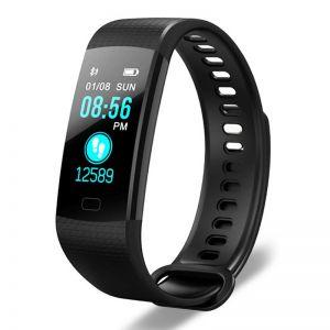 Sport Smart Watch Health Fitness Wrist Band Bracelet Activity Tracker Black