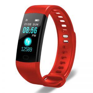Sport Smart Watch Health Fitness Wrist Band Bracelet Activity Tracker Red
