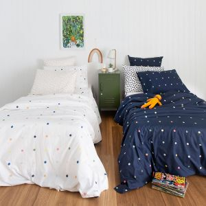 Spot & Dot | Kids Reversible Quilt Cover | More Than Ever