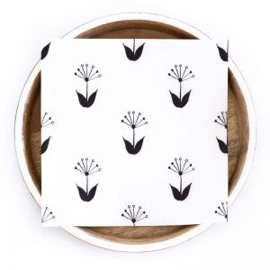 Spring Paper Napkins   Compostable 3 Ply