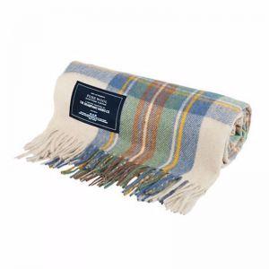 Spring - Recycled Wool Scottish Tartan Blanket