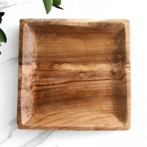 Square Plate | Timber | Natural