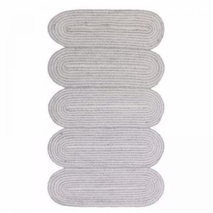 Squiggle Rug | Grey | 90 x 150 cm