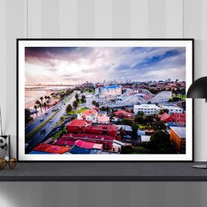 St.Kilda Birds-Eye View | Limited Edition Photographic Print or Canvas