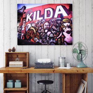 St.Kilda Graffiti I Limited Edition I Photographic Print or Canvas