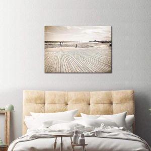 St Kilda Palms | Canvas Print By United Interiors