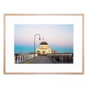 St Kilda Pier | Framed Print | By United Interiors