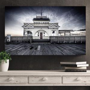 St.Kilda Pier, St.Kilda I Black & White | Limited Edition Photographic Print or Canvas