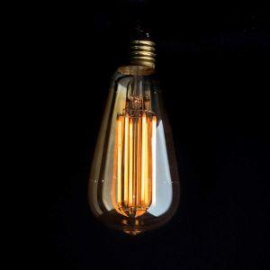 ST64 Long Filament 6W Bulb