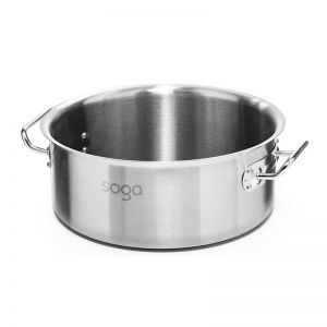 Stainless Steel Stockpot | 113L | without Lid