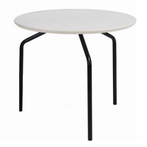 Stan Side Table | Black + White | Modern Furniture