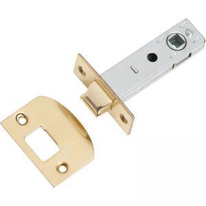 Standard Tube Latch, 60mm Backset | Polished Brass | Schots