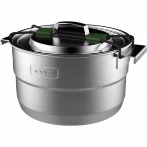 Stanley Base Camp Cook Set for Four - Stainless Steel