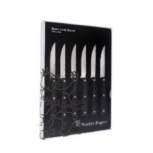 Stanley Rogers Bistro Steak Knives   6 Set