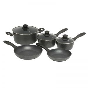 Stanley Rogers Quartz Stone Advanced 5 Piece Cookset