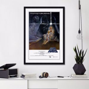Star Wars A New Hope 1977 Style A | Unframed Art Print